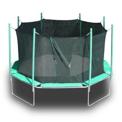 Magic Circle Octagon Trampoline With Enclosure