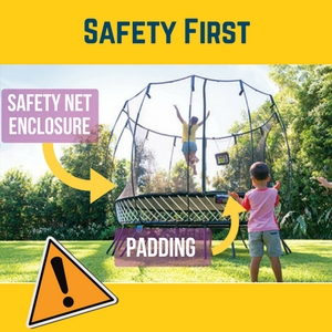 safe to play fun trampoline games