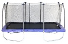 olympic trampoline Skywalker Rectangle Trampoline with Enclosure table