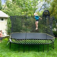 best trampoline for safety