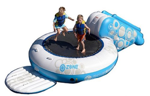 Rave O-Zone water trampoline reviews
