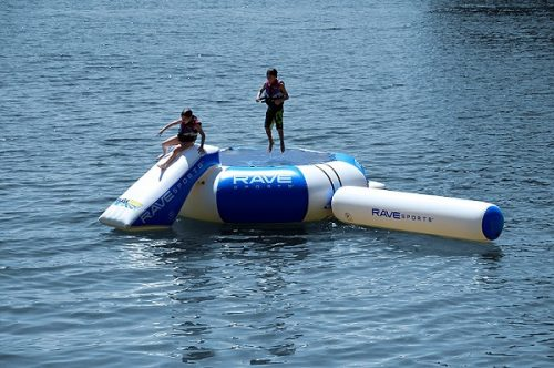 Rave Sports Splash Zone water trampoline review