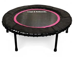 Rebounder Trampoline Exercises leaps