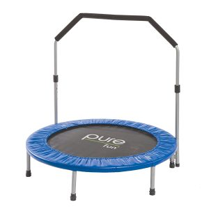 pure fun mini foldable trampoline