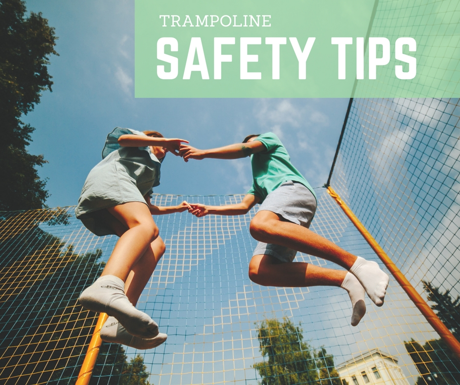 trampoline safety tips