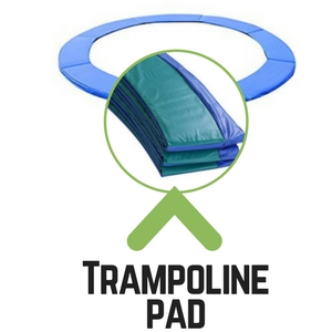 trampoline safety tip pad