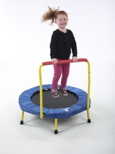best toddler trampolines with bar
