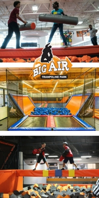 best trampoline parks in the world big air trampoline park