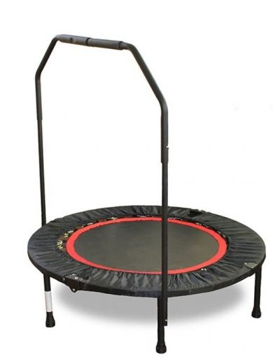 exercise trampoline with handle