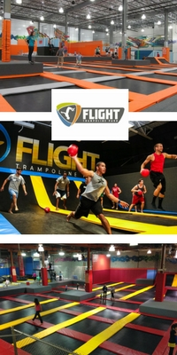 best trampoline parks in the world flight trampoline park