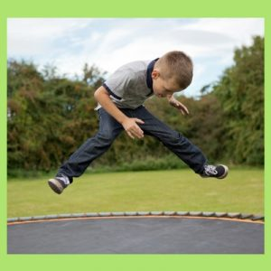trampoline safety tips wet