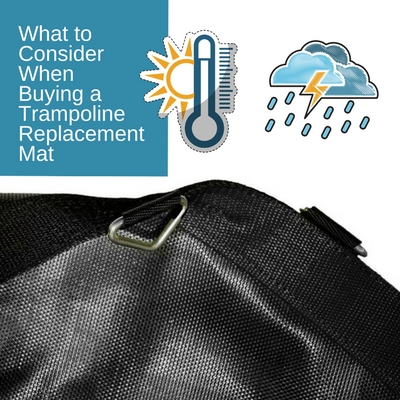 consider replace trampoline mat