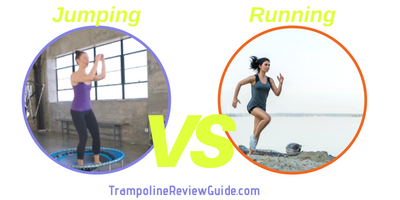 Is jumping on a trampoline more effective than jogging