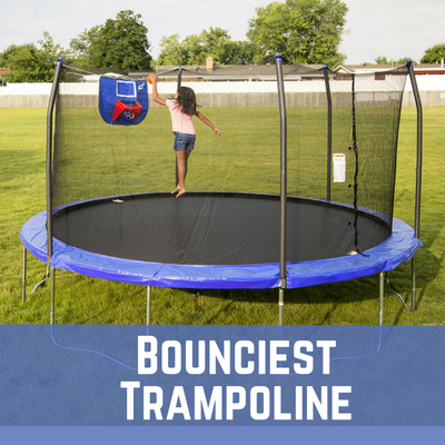 bounciest trampolines