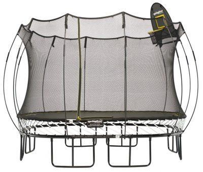 square trampoline springfree