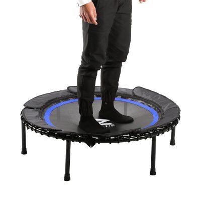 zelus bungee rebounder trampoline