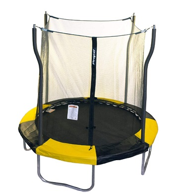Ropel Trampolines Indoor Outdoor Trampoline with Enclosure
