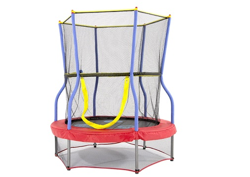 Skywalker Trampolines Round Bouncer Trampoline with Enclosure