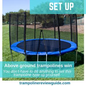 Trampoline type