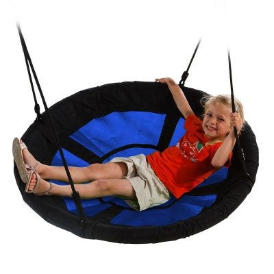 trampoline swing n slide