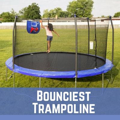 bounciest trampolines