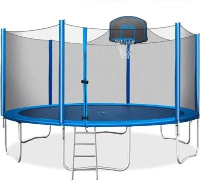 High bouncing trampolines merax