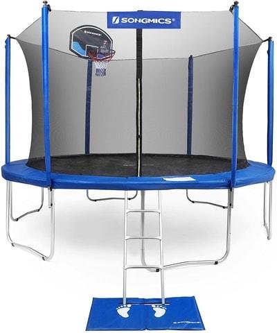 songmics bounciest trampoline